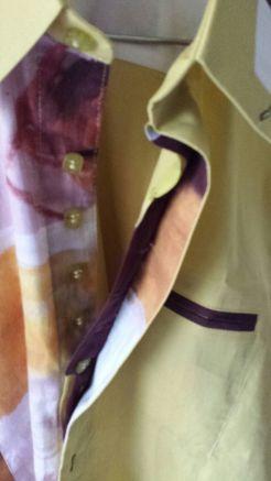 Camisa desabrochada