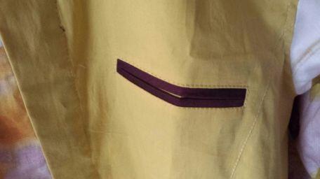 Detalle del bolsillo