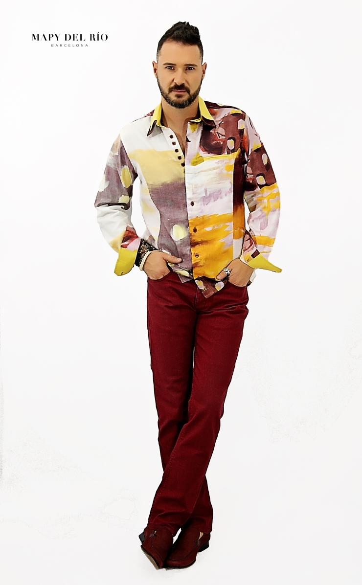 Camisa Cubista Picasso_1