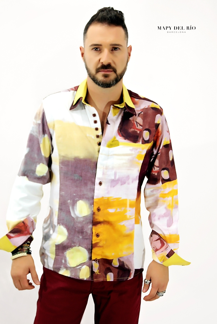 Camisa Cubista Picasso_2