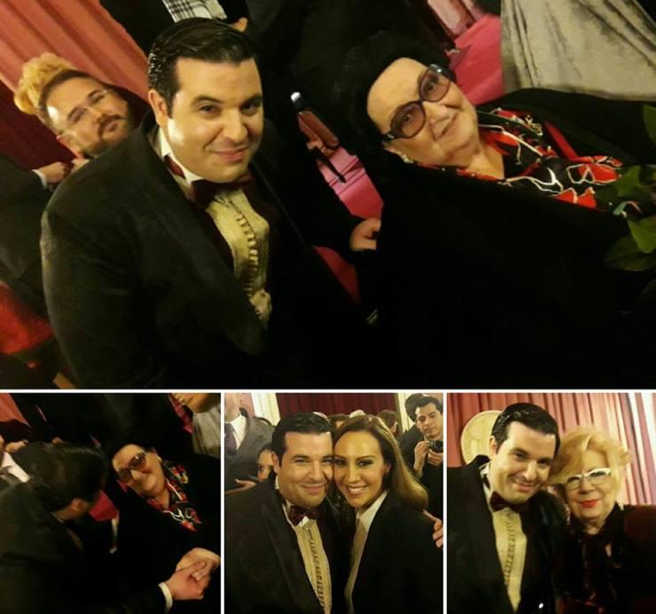 About last concert, with the big three_Monsérat Caballé, Monica Naranjo and Nuria Núria Feliu
